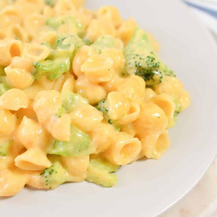 Mac 'n Cheese with Broccoli
