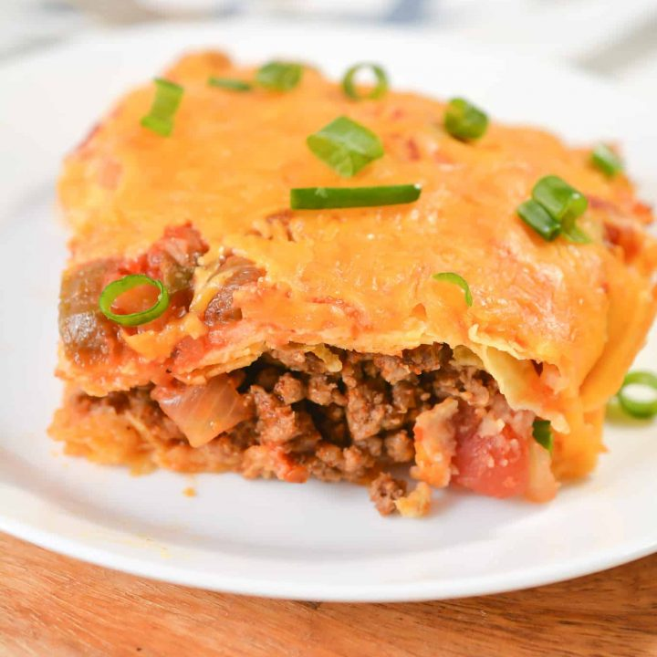 South of the Border Inspired Lasagna