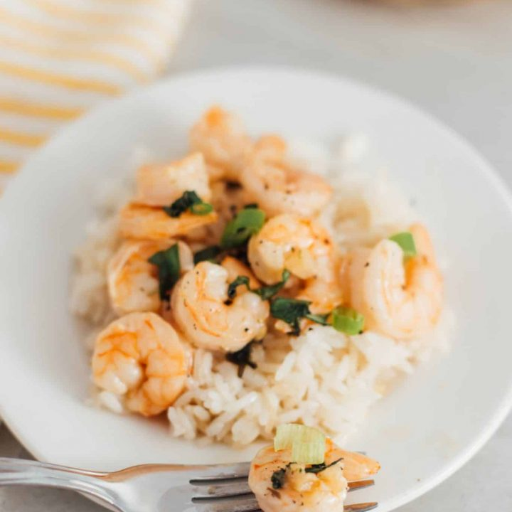 Garlic Grilled Shrimp With Herbs