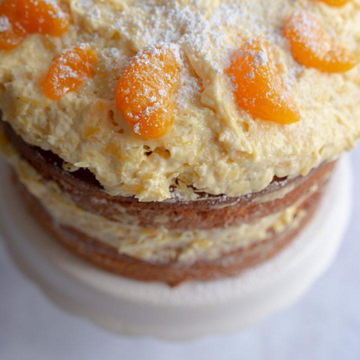 Sunny Pineapple Orange Cake